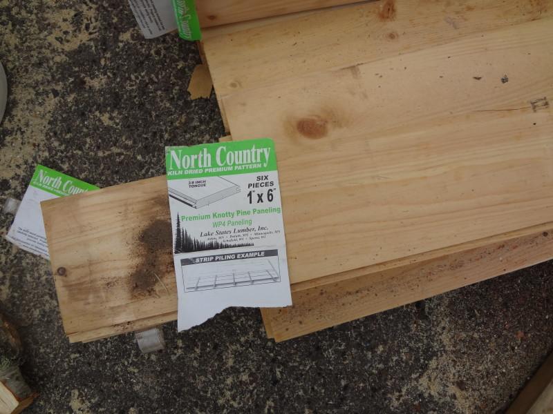 Panels for loft flooring