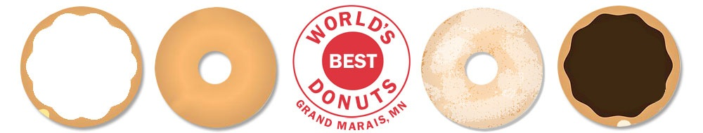 They really are the world's best doughnuts!