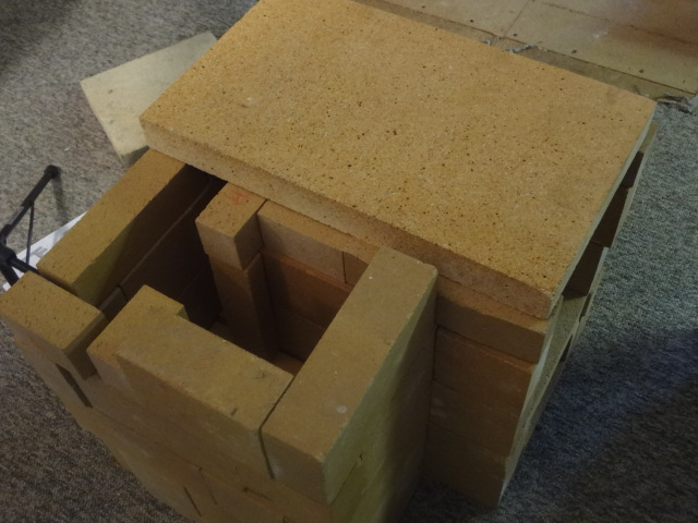 Largest brick over batch box