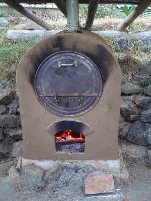 Barrel oven