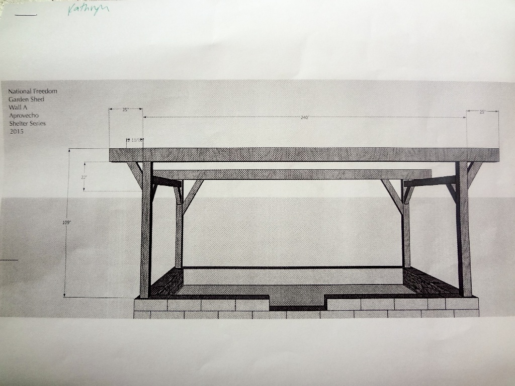 Wall A, plans