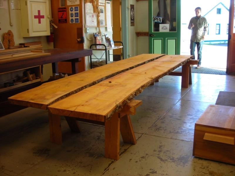 Alder boards for seats